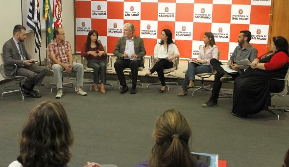 Debate do Mais Educação São Paulo (Foto: Heloisa Ballarini/ SECOM)